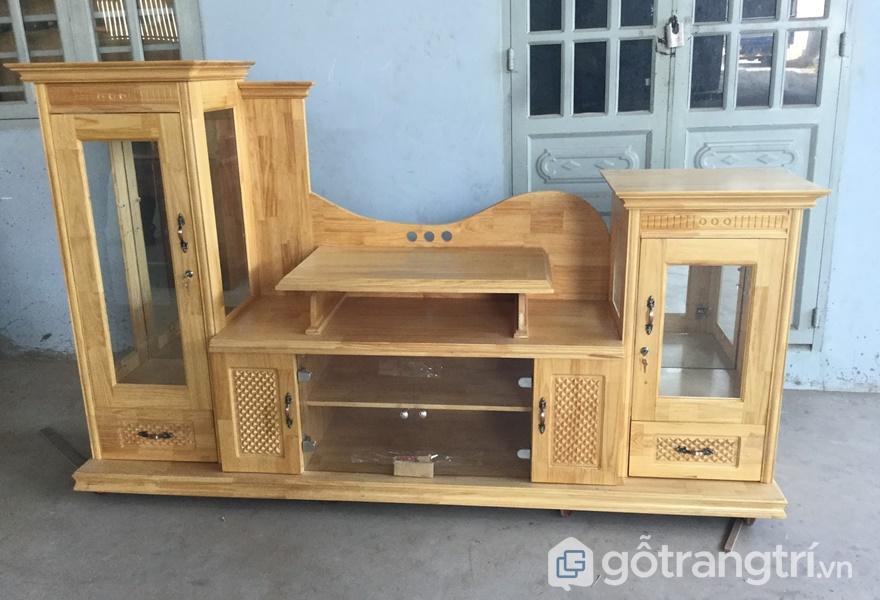 Nội thất gỗ thông - ảnh internet