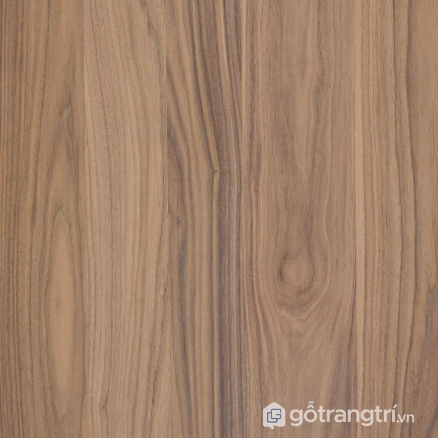 Bề mặt gỗ veneer óc chó - ảnh internet