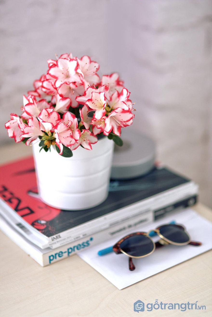 ý nghĩa hoa giả trang trí