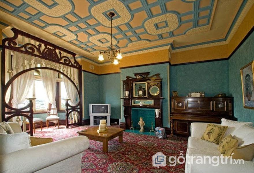 Làm thế nào để sở hữu được thiết kế nội thất Art Nouveau tuyệt vời? (Ảnh: Internet)
