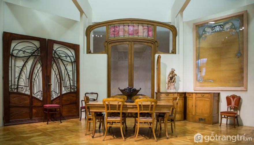 Musée d'Orsay, Paris. Ví dụ về đồ nội thất nghệ thuật nouveau - Tác giả: Ninara CC BY 3.0