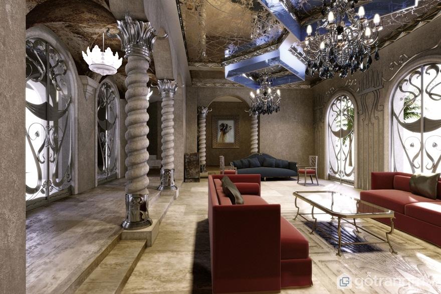 Đồ nội thất Art Nouveau (Ảnh: Internet)