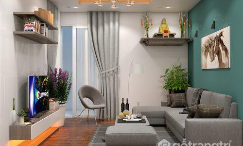 Lên ý tưởng thiết kế nội thất phòng khách nhỏ theo sở thích