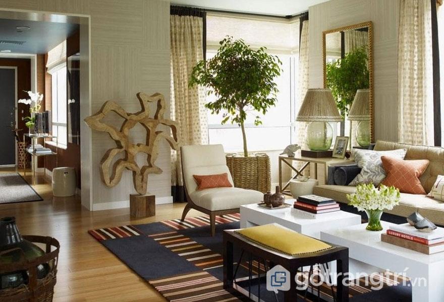 Việc sử dụng màu sắc hài hòa, nhã nhặn mang đến phong cách Eco cuốn hút (Ảnh: Internet)