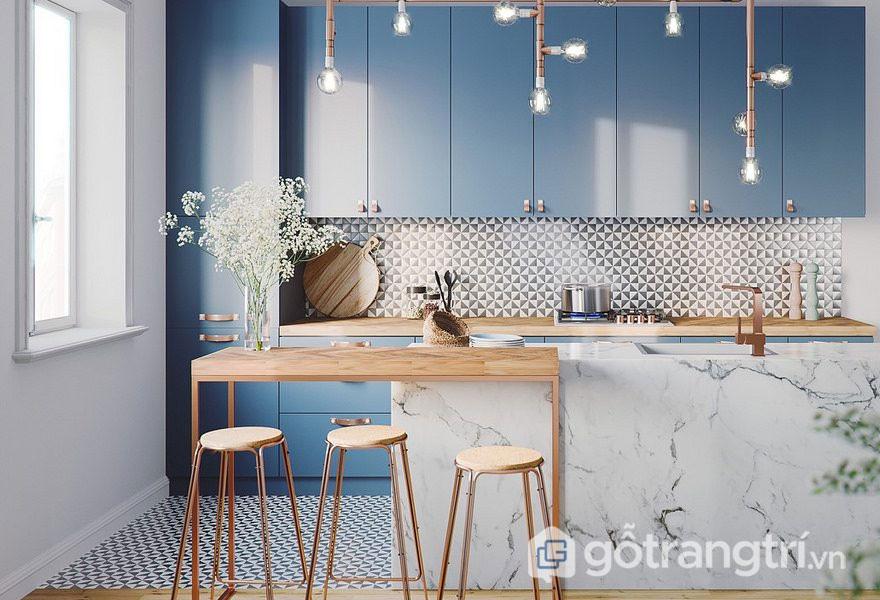Thiết kế nội thất bếp theo phong cách Eco đầy cuốn hút (Ảnh: Internet)