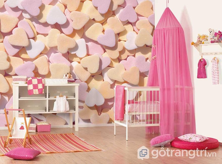 Phòng ngủ bé gái 10 tuổi đẹp