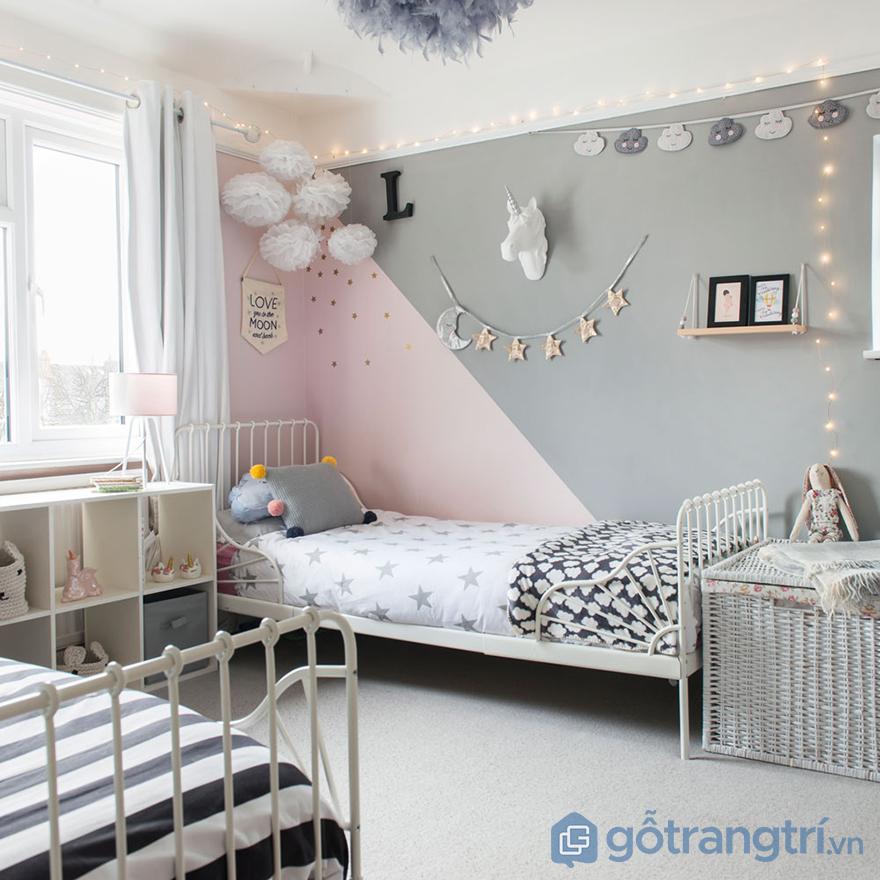phòng ngủ bé gái 12 tuổi dễ thương