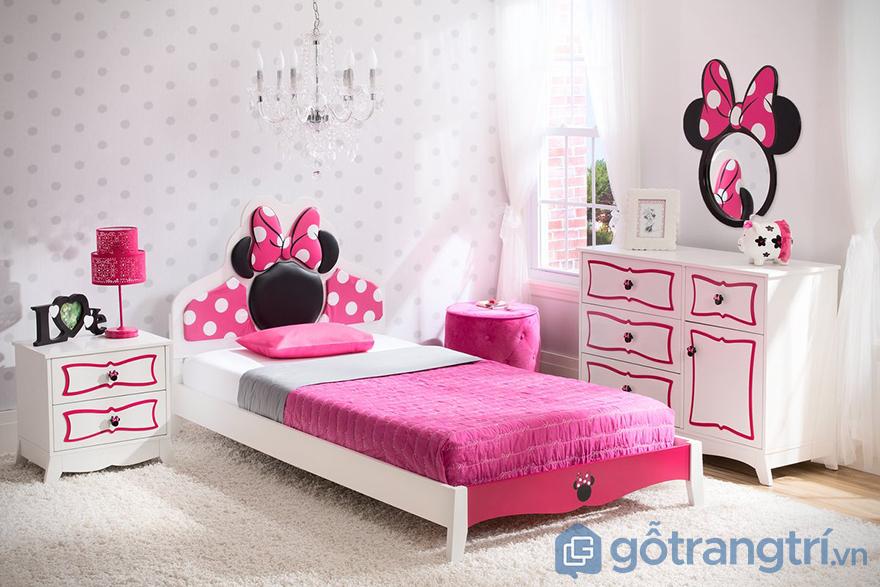giường ngủ cho bé gái 12 tuổi