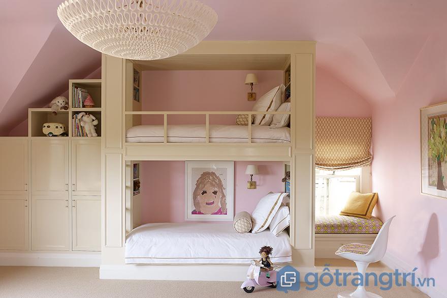 phòng ngủ bé gái 12 tuổi đẹp