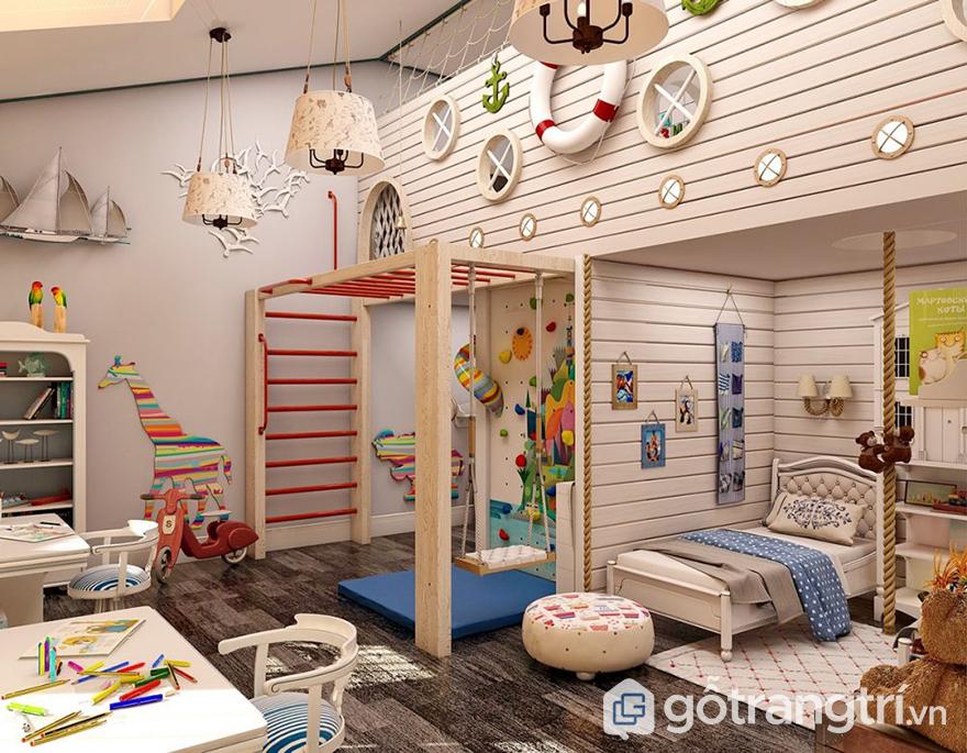 chất liệu nội thất cho phòng ngủ bé gái