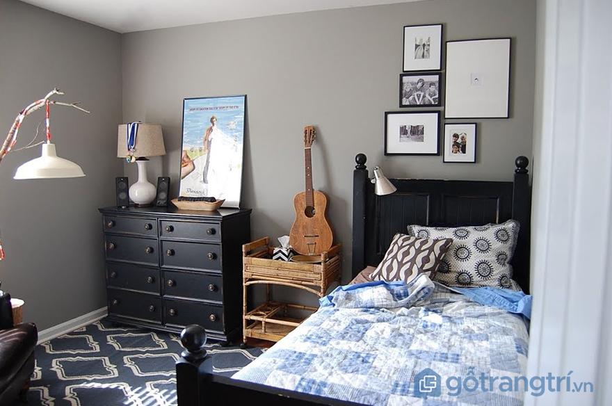 Nội thất phòng ngủ cho bé trai 15 tuổi