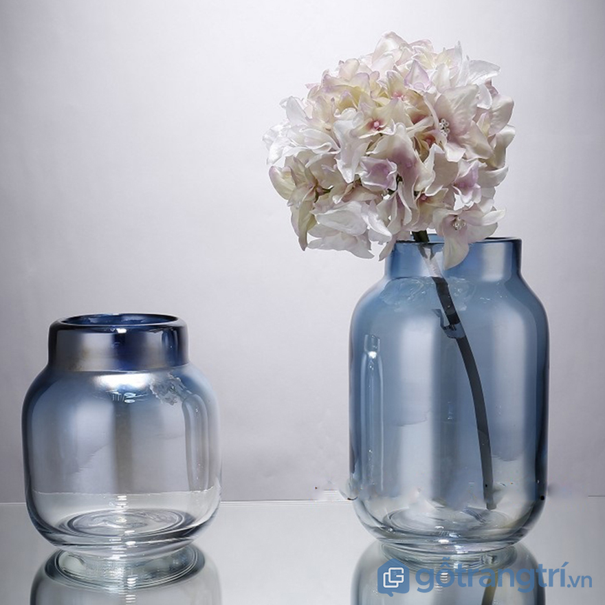 Lọ hoa thủy tinh trang trí văn phòng
