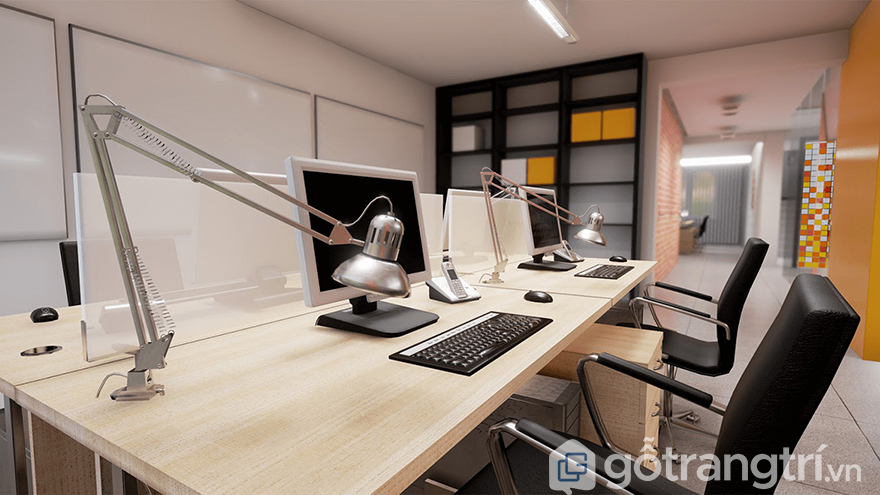 Văn phòng công ty nhỏ chuyên nghiệp
