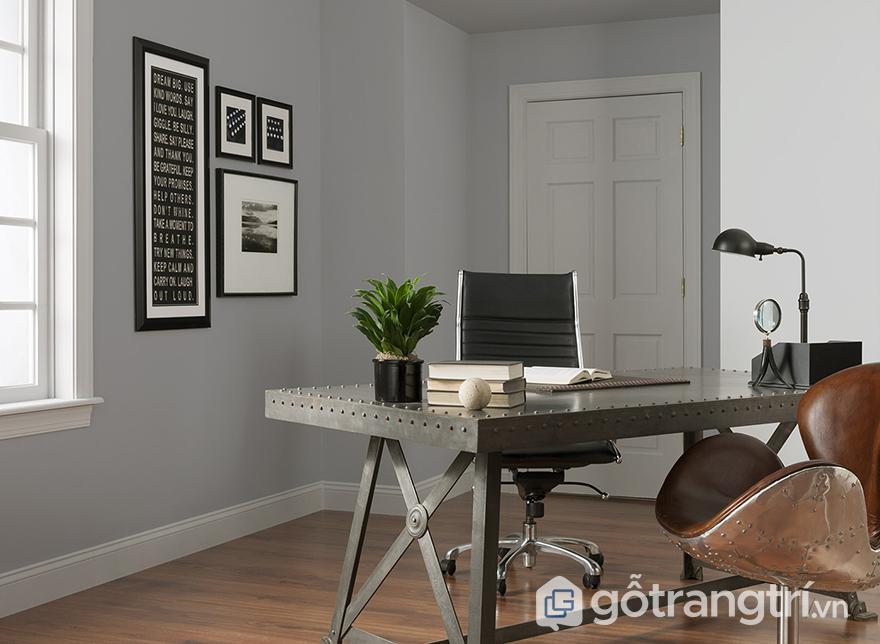 Chọn vật liệu trang trí văn phòng phù hợp phong thủy