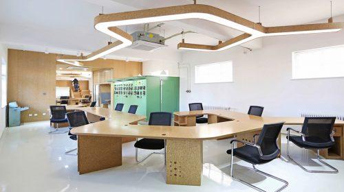 Lộ diện 5 vật liệu trang trí văn phòng được ưa chuộng nhất 2019