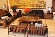 Nâng tầm đẳng cấp với đồ gỗ nội thất phòng khách xu hướng 2019