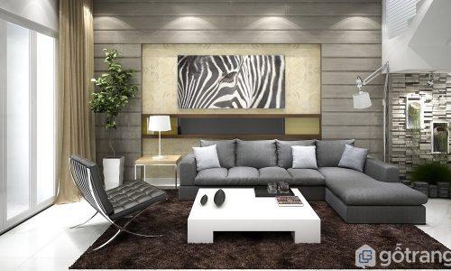 Share ý tưởng cực độc giúp trang trí phòng khách đẹp hút ánh nhìn