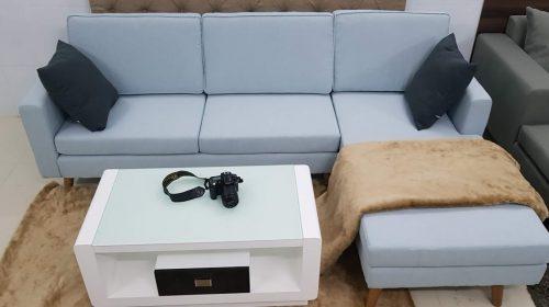 Sáng tạo không gian cực đỉnh với sofa giường chữ L mới nhất 2019