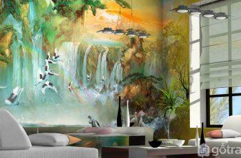 5 ý tưởng trang trí tường phòng khách sang trọng, bắt kịp xu thế mới