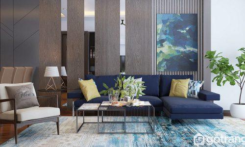 Ngắm 15+ mẫu trang trí phòng khách nhà ống đẹp nhất 2019