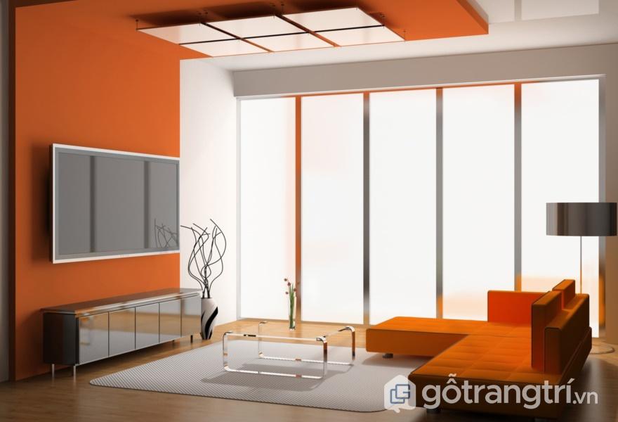 Kiến tạo không gian với bề mặt Acrylic bóng gương trong thiết kế - ảnh internet