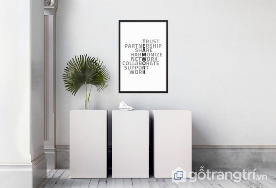Bề mặt Acrylic màu trắng - ảnh internet