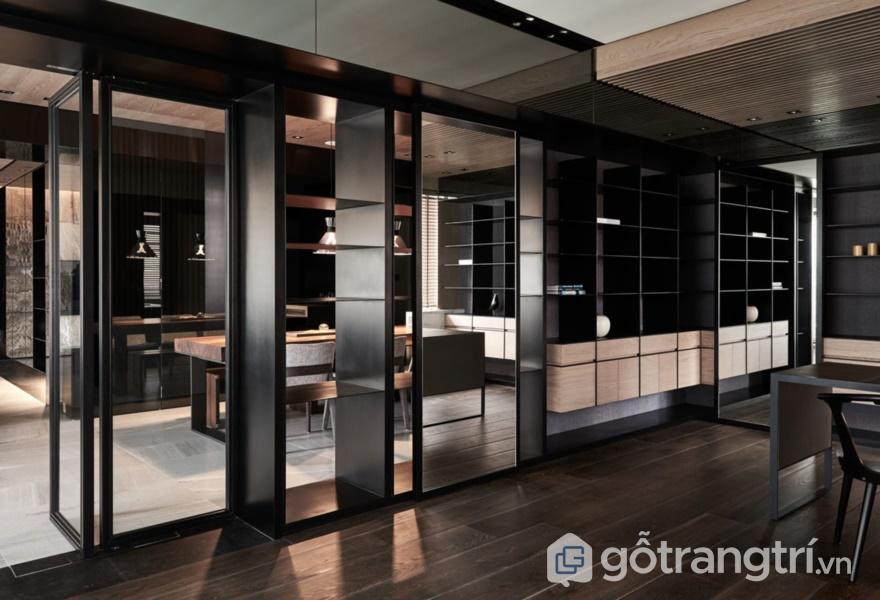Ứng dụng bề mặt Acrylic bóng gương trong thiết kế nội thất - ảnh internet