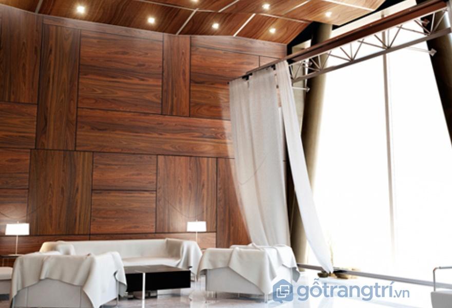 Ứng dụng bề mặt veneer trong thiết kế nội thất - ảnh internet
