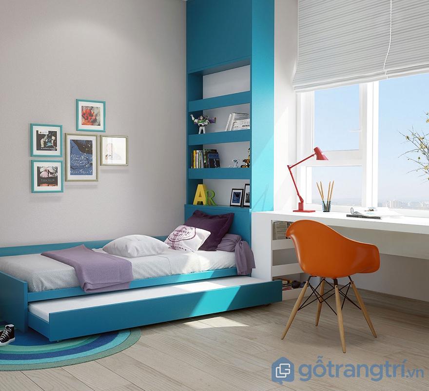cách trang trí phòng ngủ từ cửa sổ