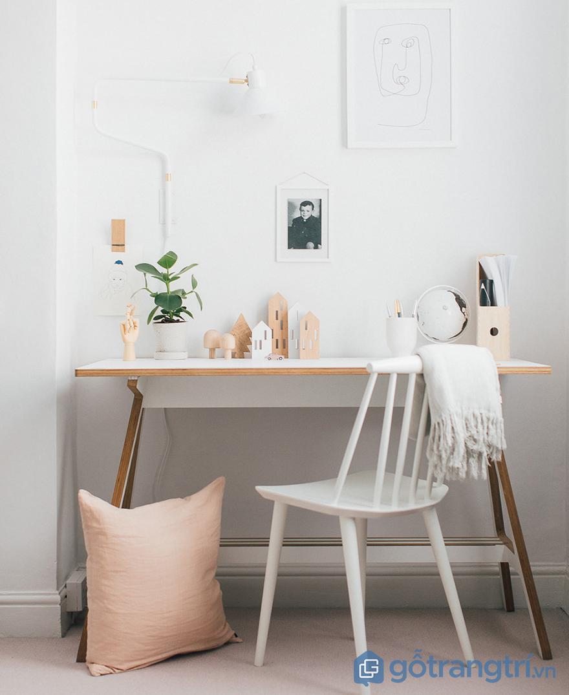 trang trí đồ hadmade cho bàn làm việc đẹp