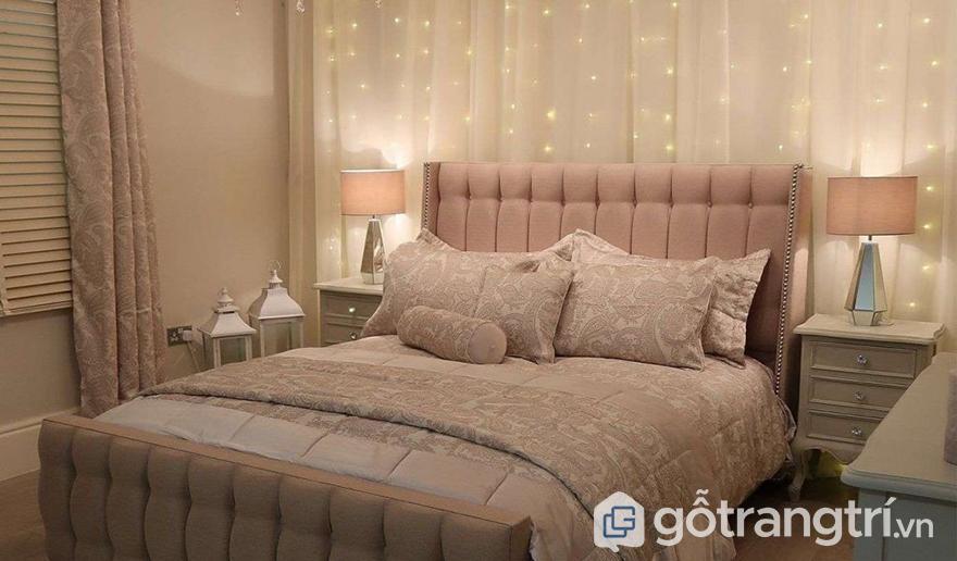 Đèn dây trang trí phòng ngủ đẹp