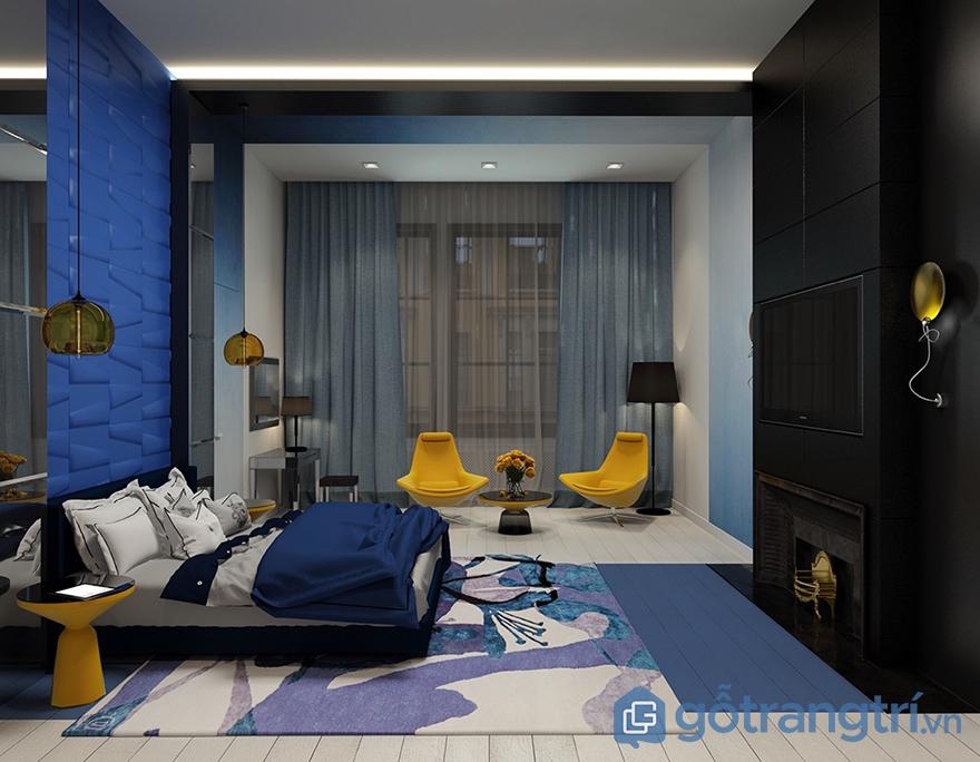 Mẫu đèn led trang trí phòng ngủ