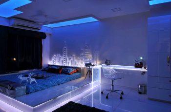 Đèn led trang trí phòng ngủ - Sự lựa chọn tối ưu cho không gian sống