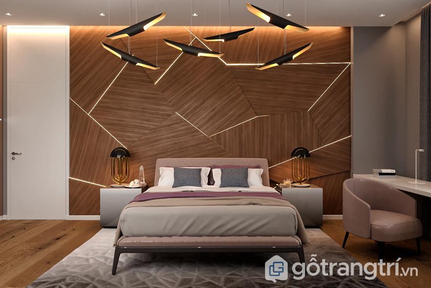 Ý nghĩa của đèn led trang trí phòng ngủ