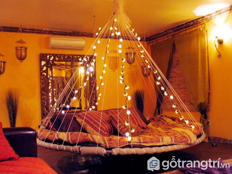Chọn đèn led trang trí phòng ngủ