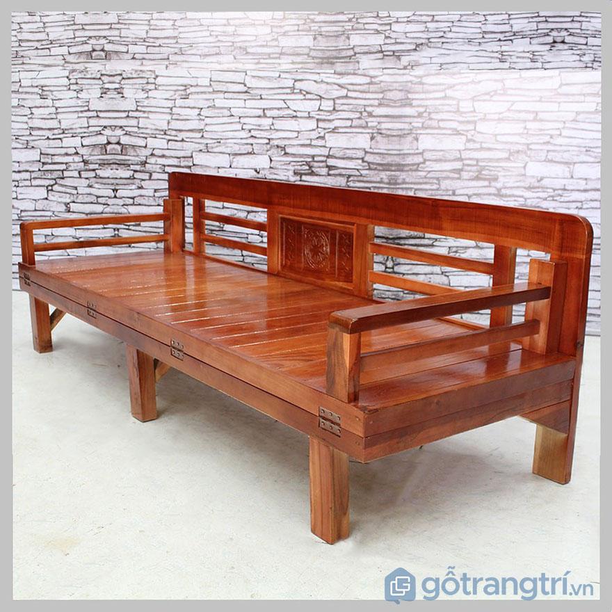 Man Nhan Trước Vẻ Sang Trọng Tinh Tế Của Ghế Sofa Giường Bằng Gỗ