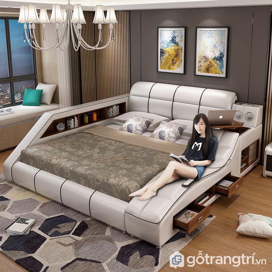 Giường ngủ thông minh kết hợp bàn làm việc