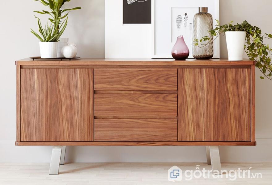 Tủ gỗ dán veneer hiện đại - ảnh internet