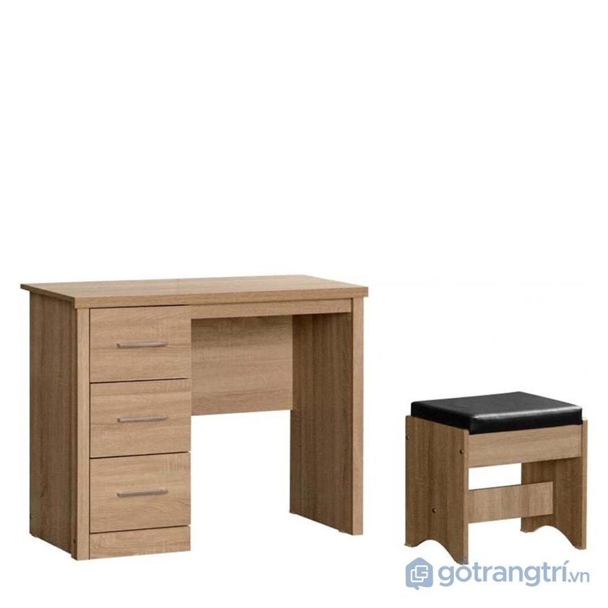 Bộ bàn làm việc gỗ dán veneer - ảnh internet