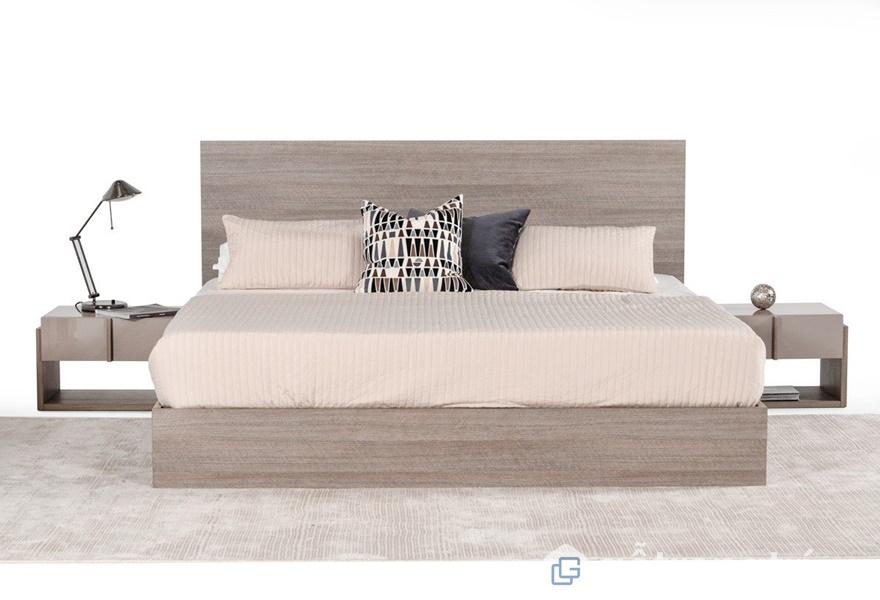 Gỗ veneer sồi trong thiết kế và trang trí phòng ngủ - ảnh internet