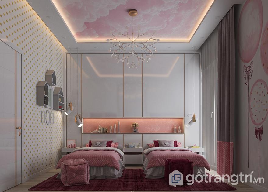 Kệ trang trí phòng ngủ chất lượng