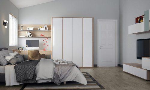 Gọi tên 12 màu sơn phòng ngủ HOT nhất 2019
