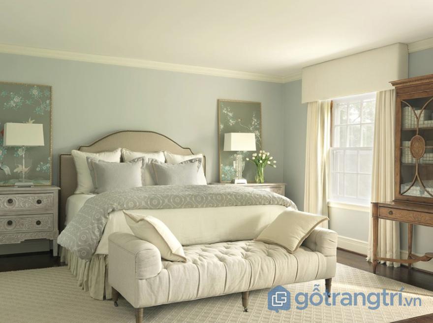 màu sơn phòng ngủ hợp tuổi