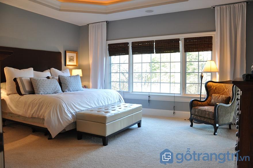 Màu sơn phòng ngủ cho mệnh Mộc
