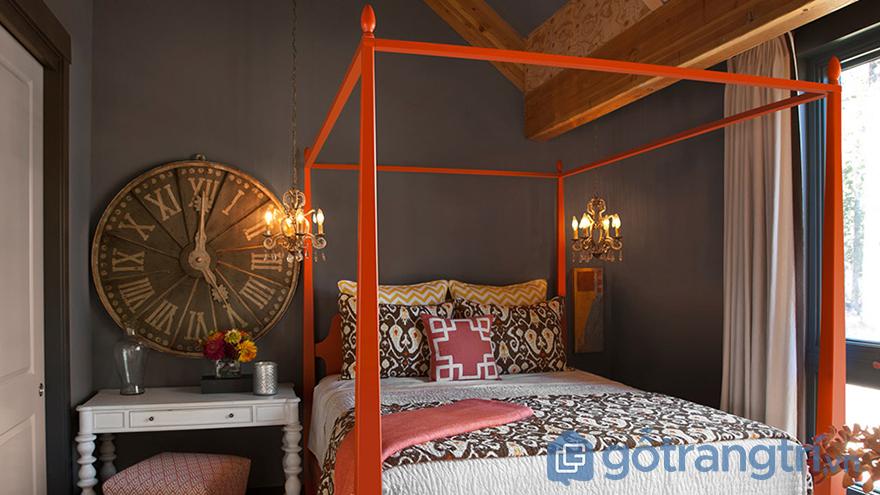 Màu sơn phòng ngủ hợp tuổi đẹp