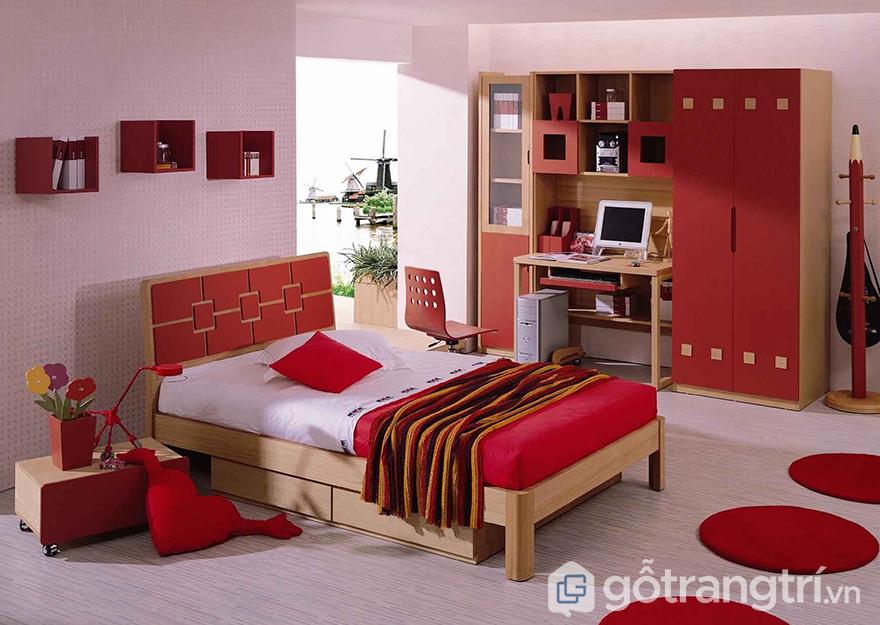 màu sơn phòng ngủ vợ chồng đẹp