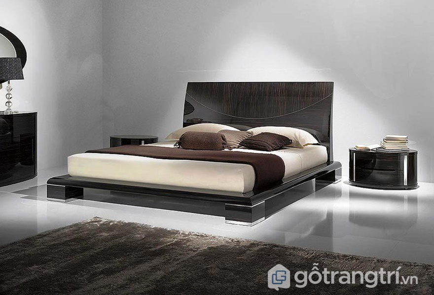 Giường ngủ gỗ acrylic đẹp - ảnh internet