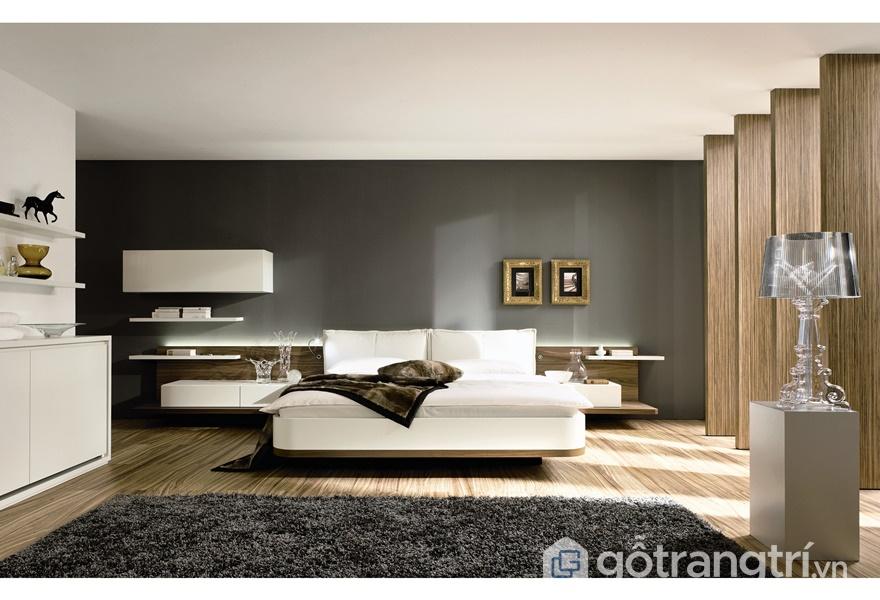 Phòng ngủ với nội thất acrylic - ảnh internet
