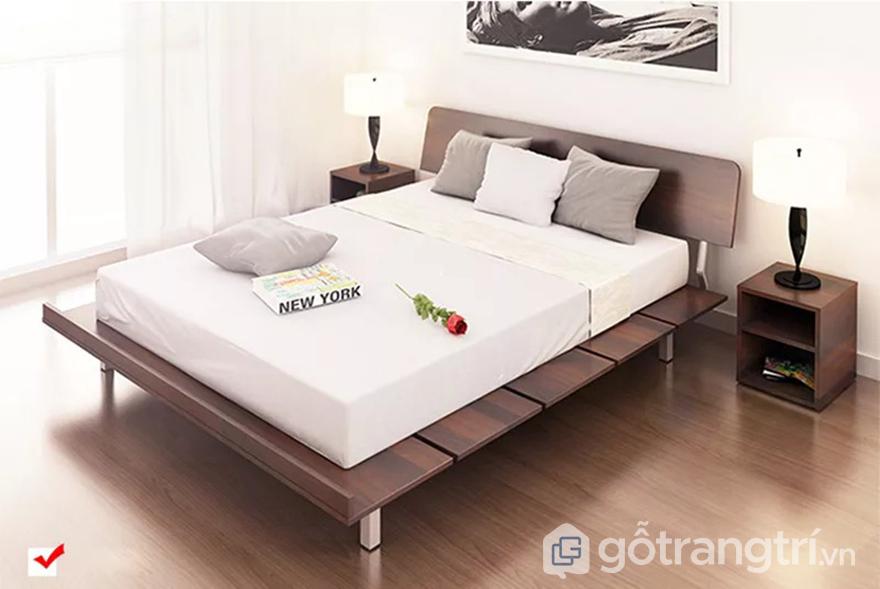 Nội thất phòng ngủ bằng gỗ công nghiệp