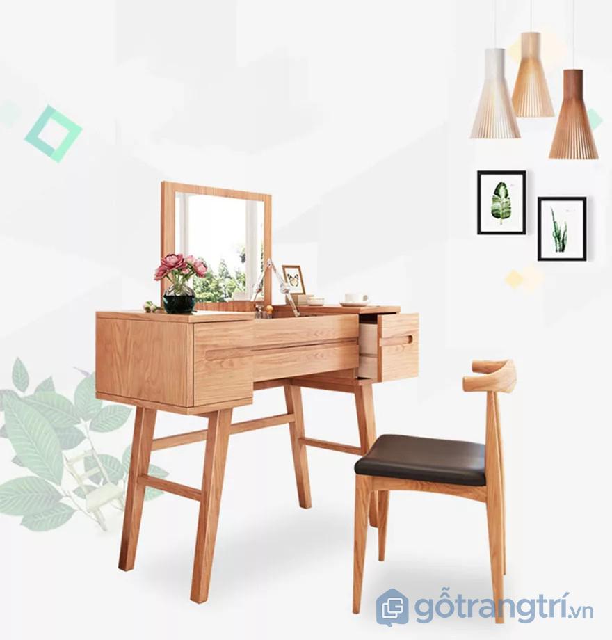 Nội thất phòng ngủ bằng gỗ tự nhiên